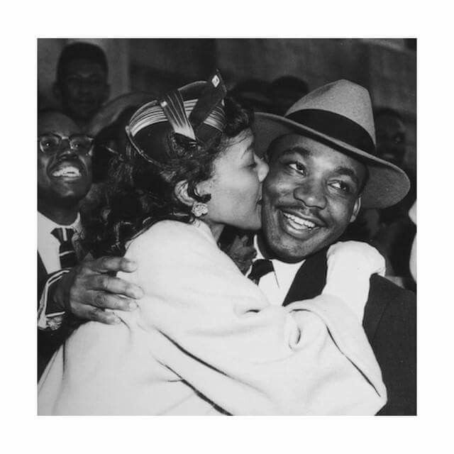 Coretta and MLK