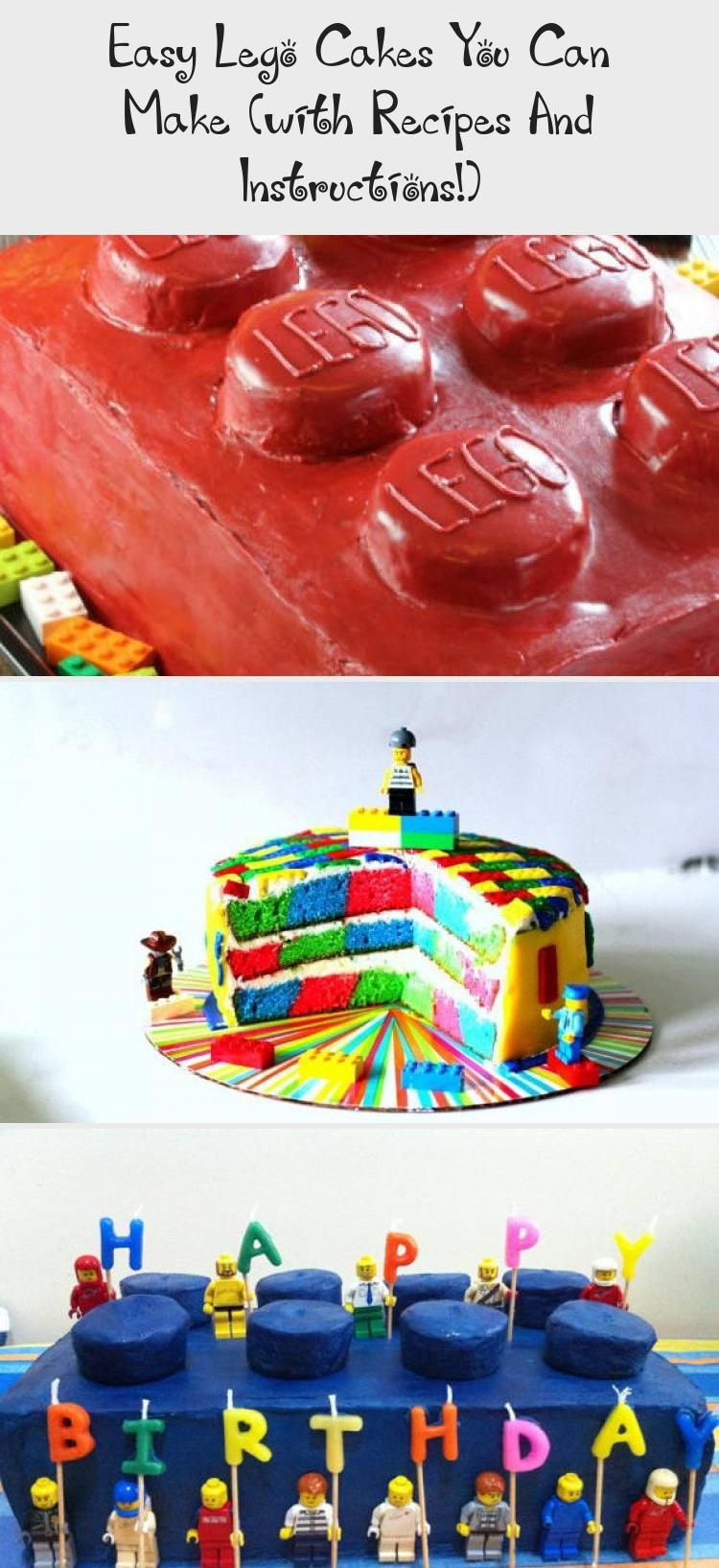 Easy lego cakes ideas you can make these with recipes