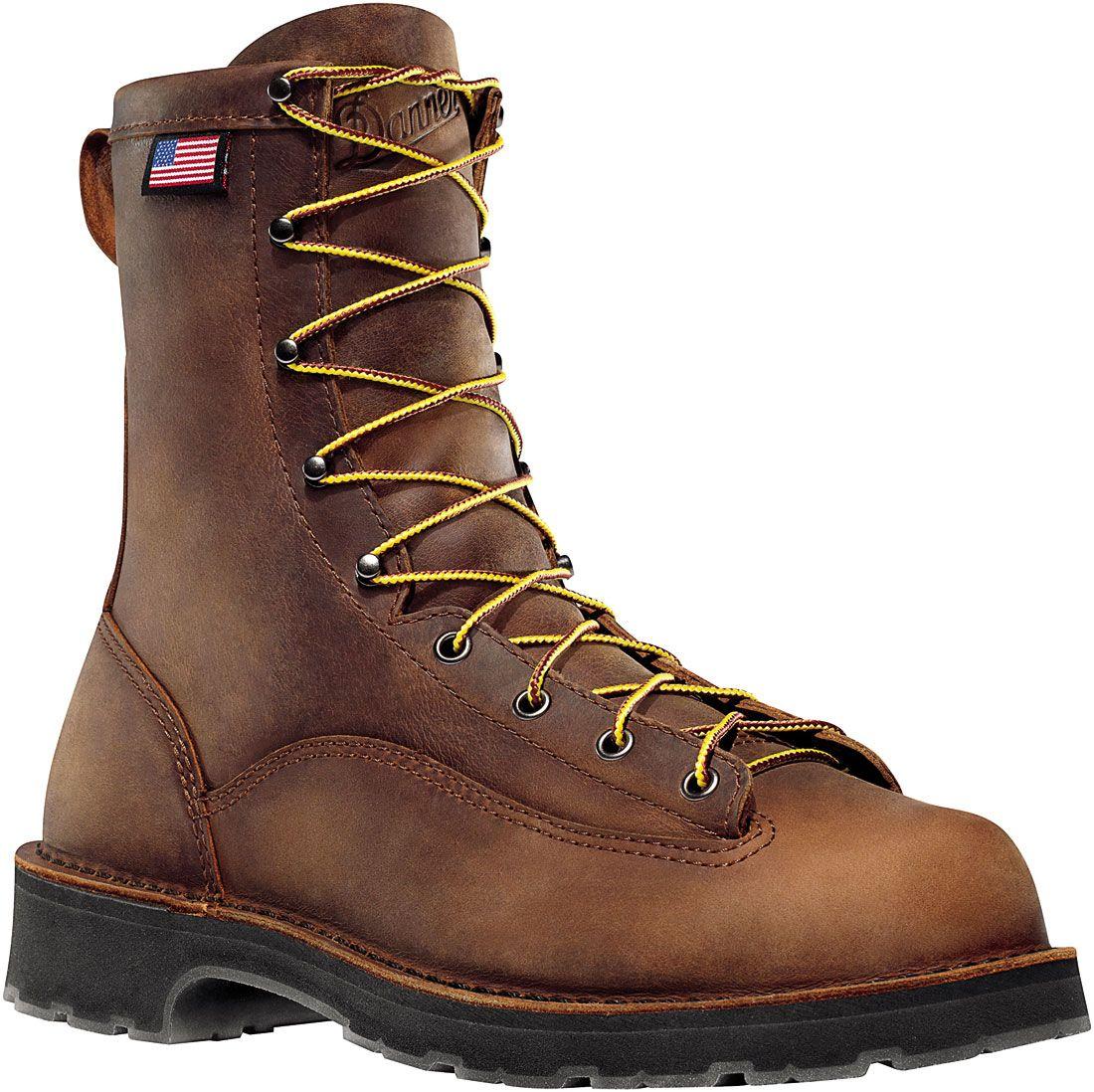 15550 Danner Men S Bull Run Brn Work Boots Brown Boots Work