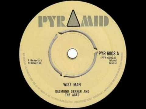 Desmond Dekker Wise Man Vinyl Record Art Wise Vinyl Records