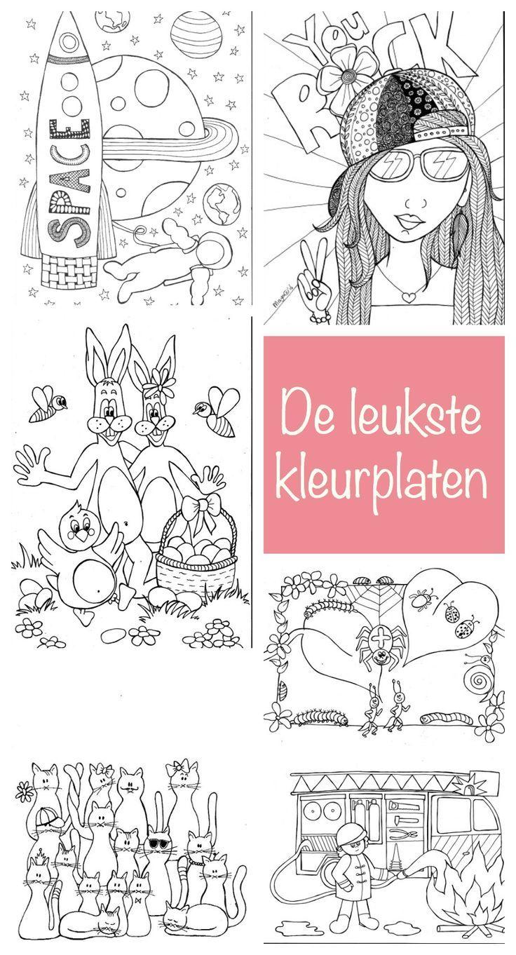 Kleurplaten Free Download Kleurplaten Zelf Speelgoed Maken Voor Kinderen