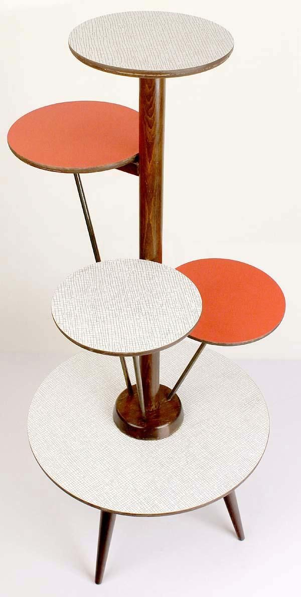 Plant Stand With Images Mid Century Furniture Retro Furniture