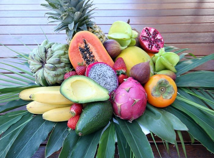 Tropical Fruit Platter For A Beach Wedding: Tropical Fruit Platter