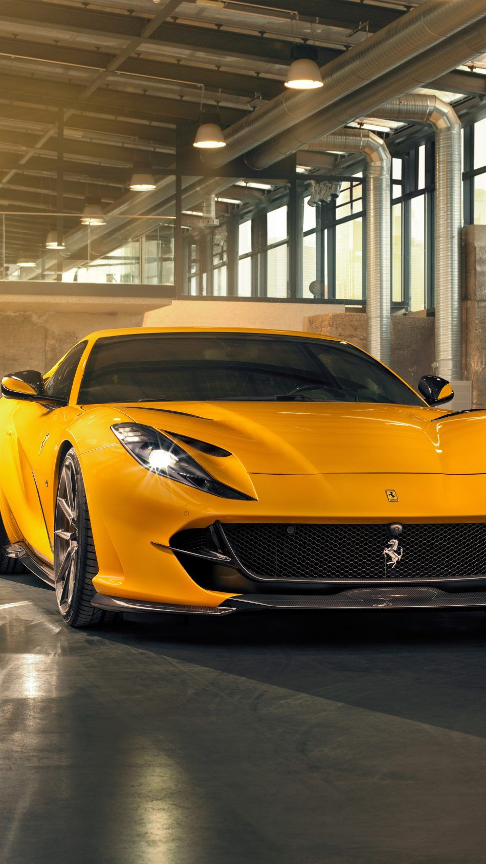 Yellow Ferrari 812 Superfast 2019 Car Wallpapers Ferrari Yellow Car