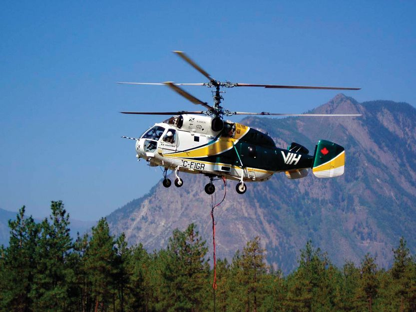 Kamov Ka 32 Helicopter Working In Mountains A Great Video Showing Outstanding Mundo