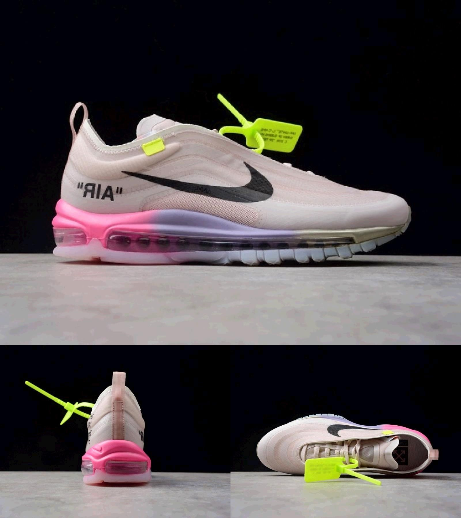 Promotion Limited Nike Off White X Air Max 97 Serena Williams Queen Aj4585 600 In 2020 Air Max 97 Sport Shoes Women Womens Sneakers