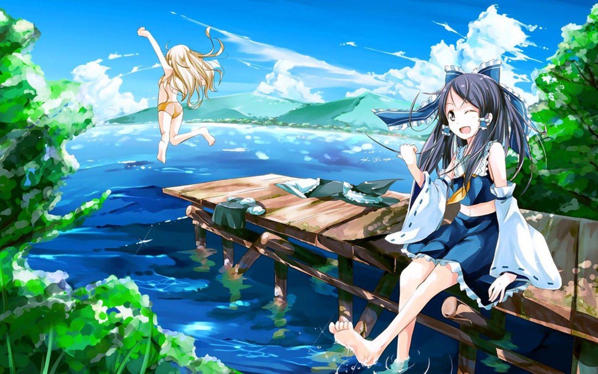 Kết quả hình ảnh cho ảnh anime mùa hè   Anime, Mùa hè, Hình ảnh