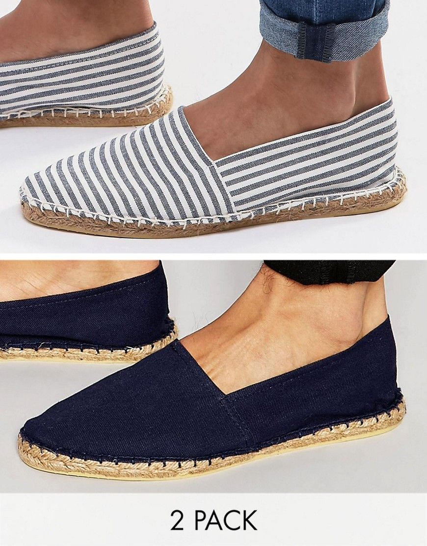 Buy Multicolored Asos Espadrilles for men at best price  Compare Espadrilles  prices from online stores like Asos  Wossel Global