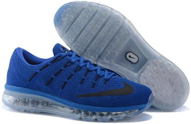 separation shoes 8fcc5 3a8af Air Max 2016 Flyknit Blue Grey Black | CHEAP NIKE AIR MAX 2016 FOR ...