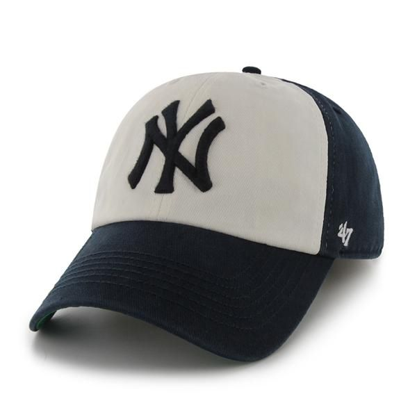 3f291984ece New York Yankees MEDIUM 47 Brand Franchise Freshman Navy Fitted Hat ...