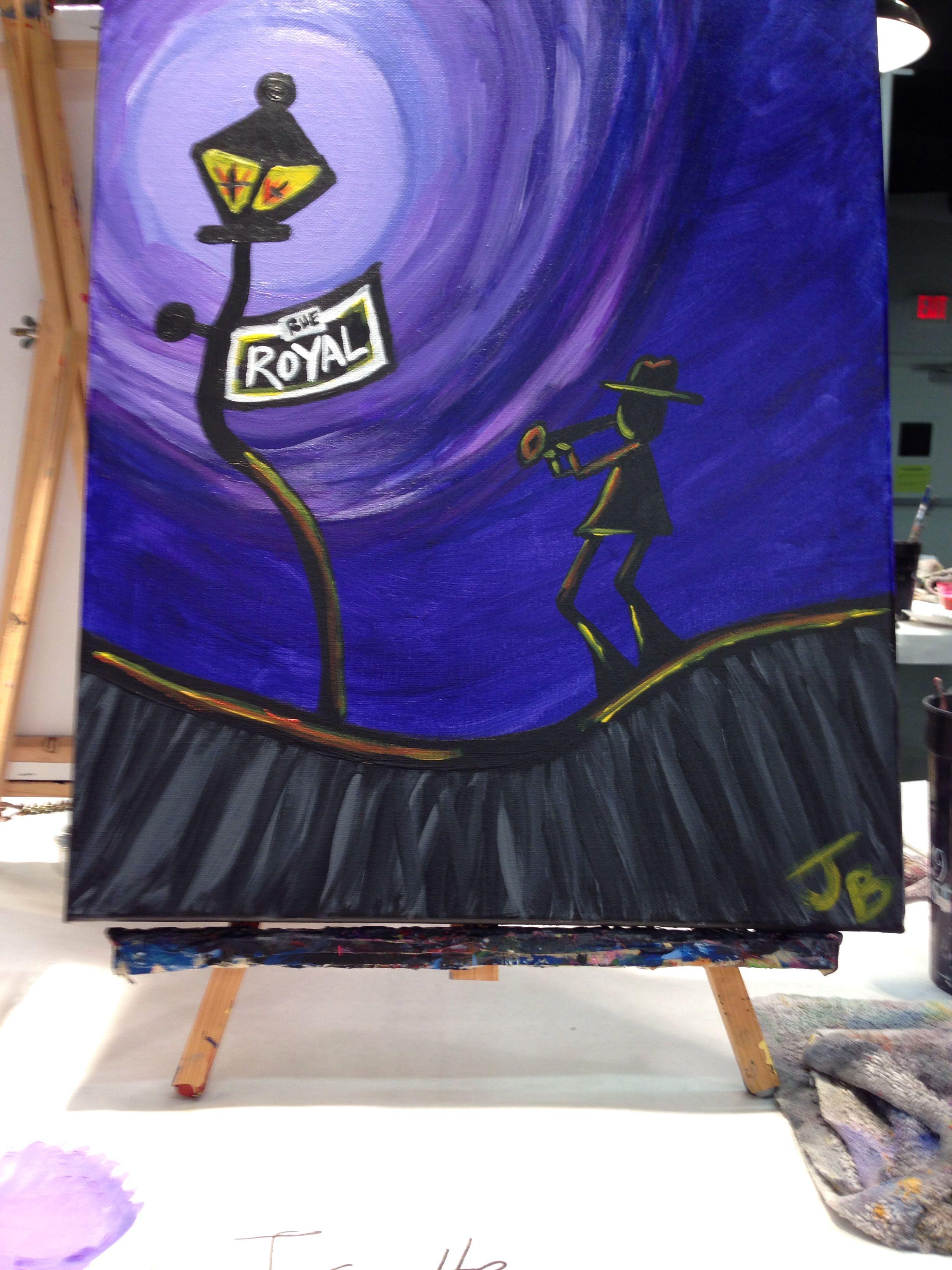 Royal St Painting With A Twist New Iberia La My Art Pinterest