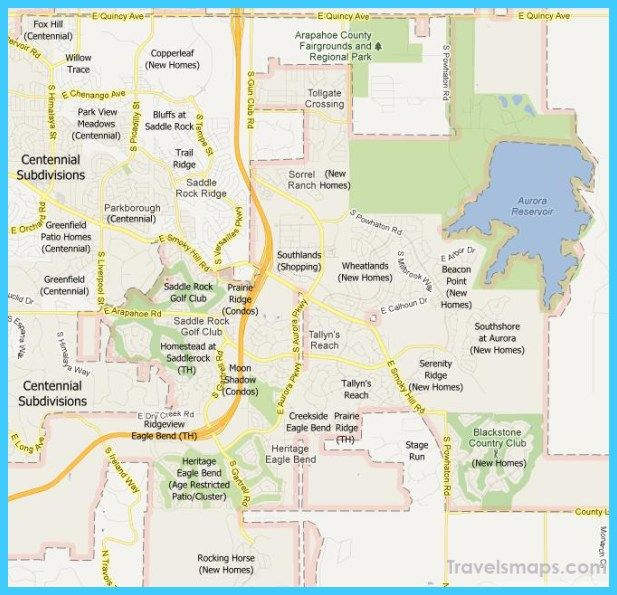 cool Map of Aurora Colorado | zzzDenver in 2019 | Colorado ...