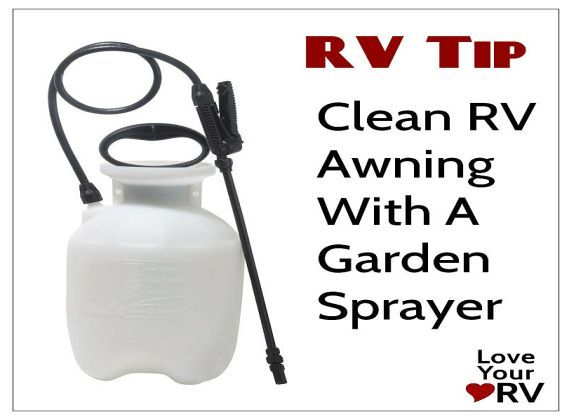 RV Awning Washing Tip