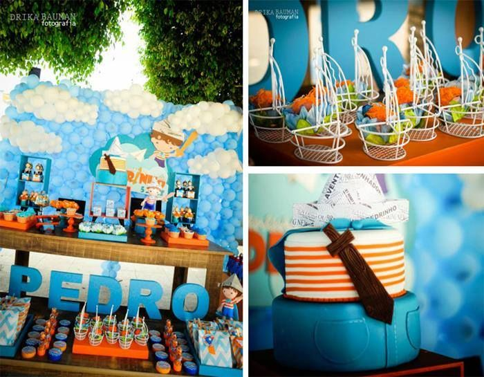adventures of a little boy themed party party ideas pinterest