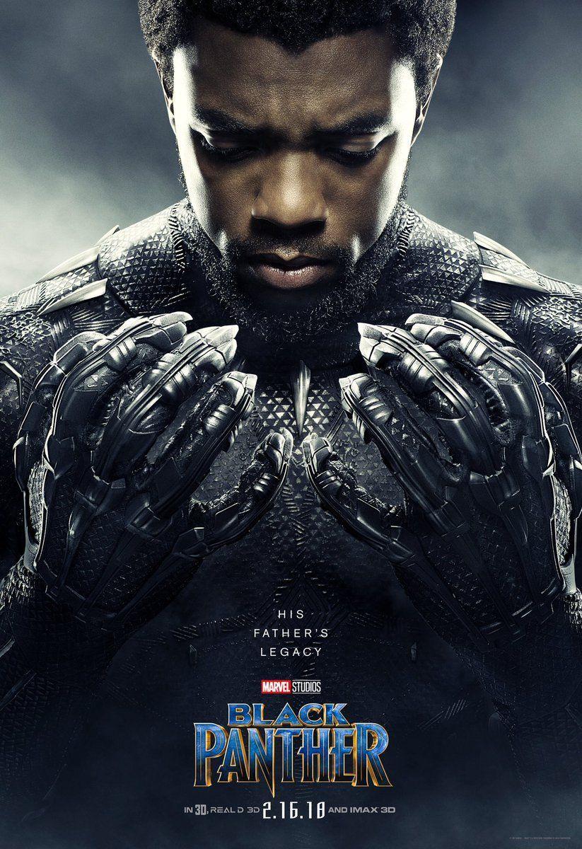 Chad Wickboseman Wakanda Forever Blackpanther Black Panther Marvel Black Panther Character Black Panther Movie Poster