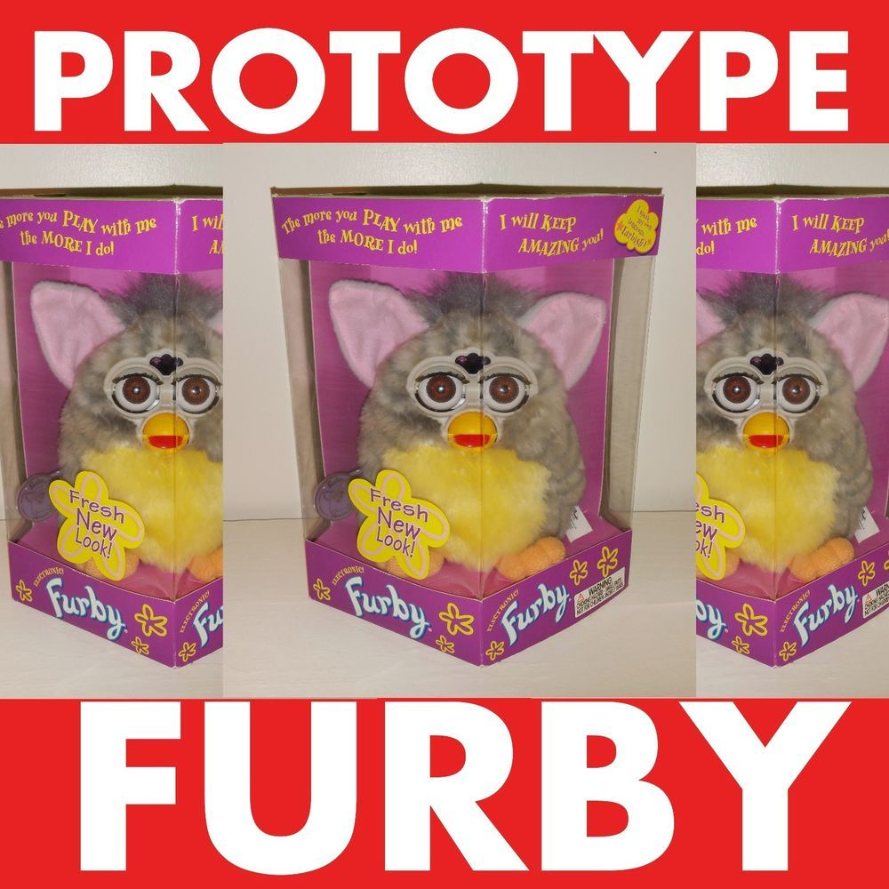 Only 1 On Ebay Prototype Sunrise Furby 1998 Original Limited Edition Rare Furby Vintage Toys For Sale Giga Pet