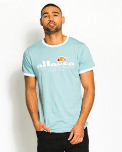80bab7de0bd ellesse mens algila t-shirt blue bottom image 3