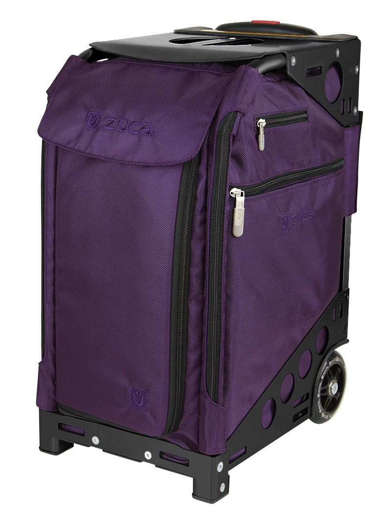 ZÜCA Pro Travel Royal Purple/Black Purple bags, Zuca bag