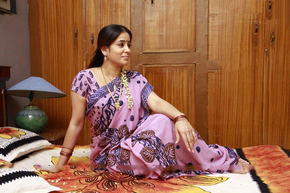 Telugu-Serial-Actress-Lakshmijpg 1200800  Saree -4671