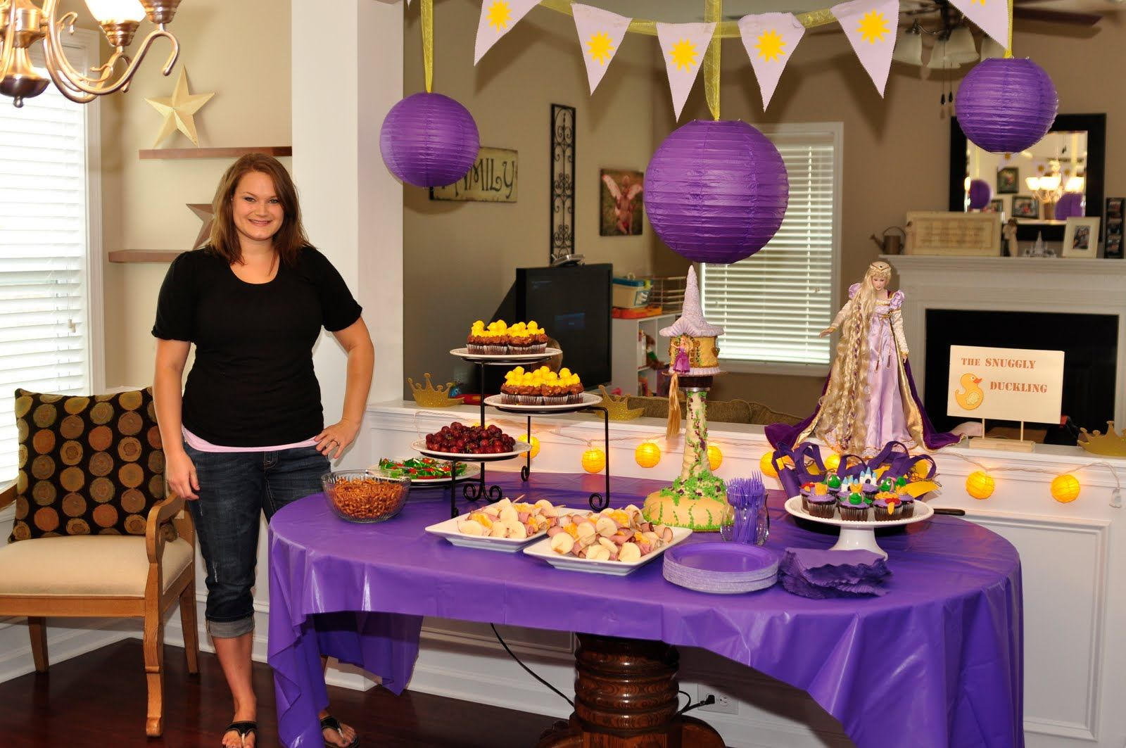 tangled birthday decorations GROSS FAMILY Rileys Second Birthday