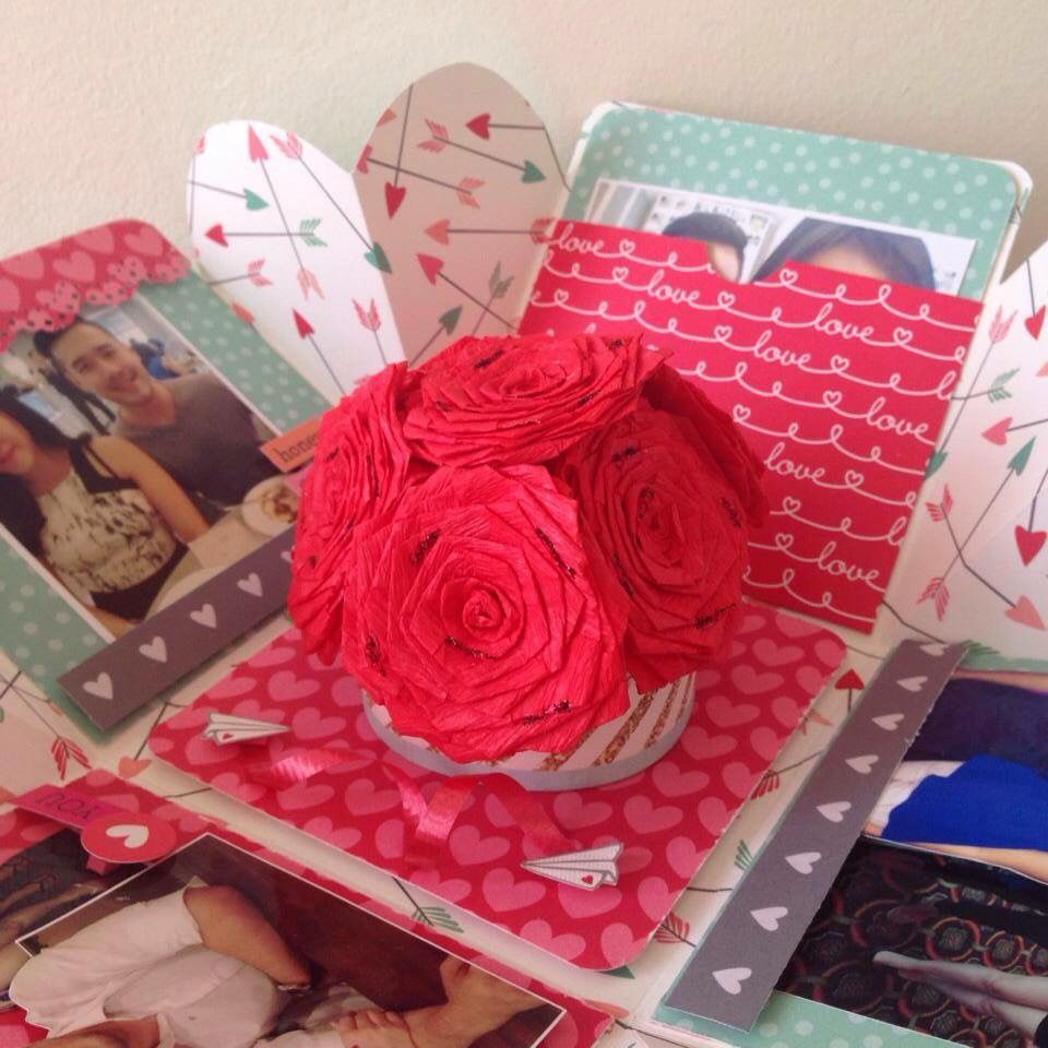 Scrapbook ideas for anniversary - A Great Anniversary Gift Ideas Handmadegift Scrapbook
