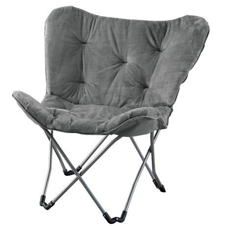 Awe Inspiring Mainstays Butterfly Folding Chair Grey Butterfly Chair Onthecornerstone Fun Painted Chair Ideas Images Onthecornerstoneorg