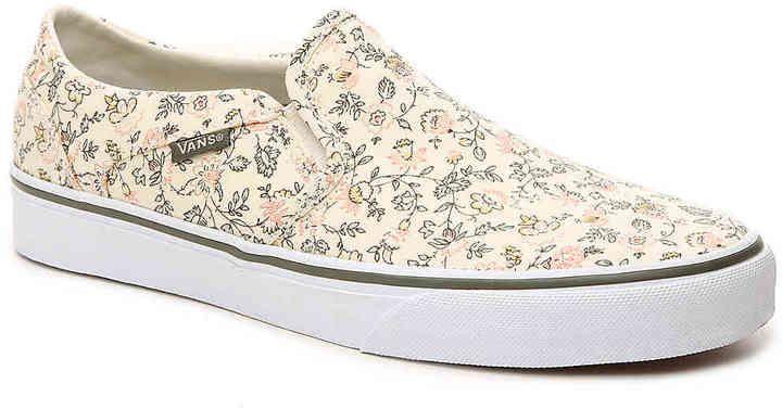 Vans Asher Women's Floral Skate Shoes