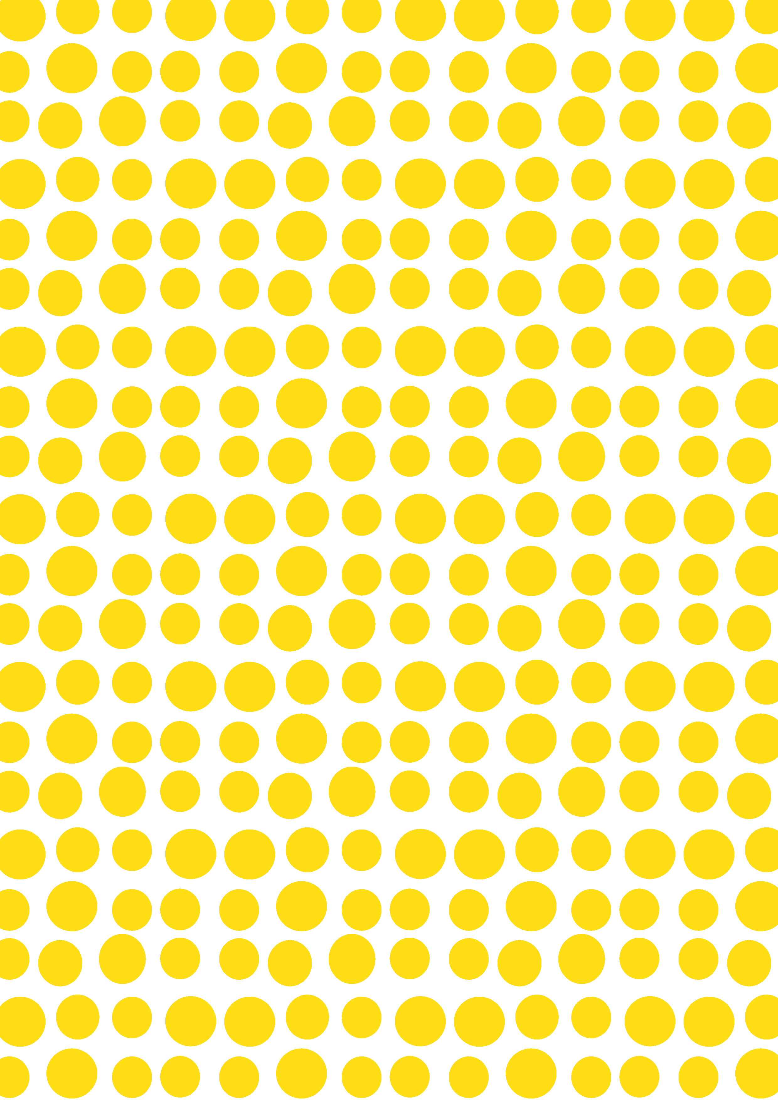Yellow Dots Design Pattern Art Yellow Wallpaper Polka Dot Background