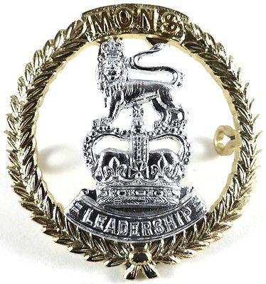 Mons officer cadet #school anodised #aluminium cap #badge, View more