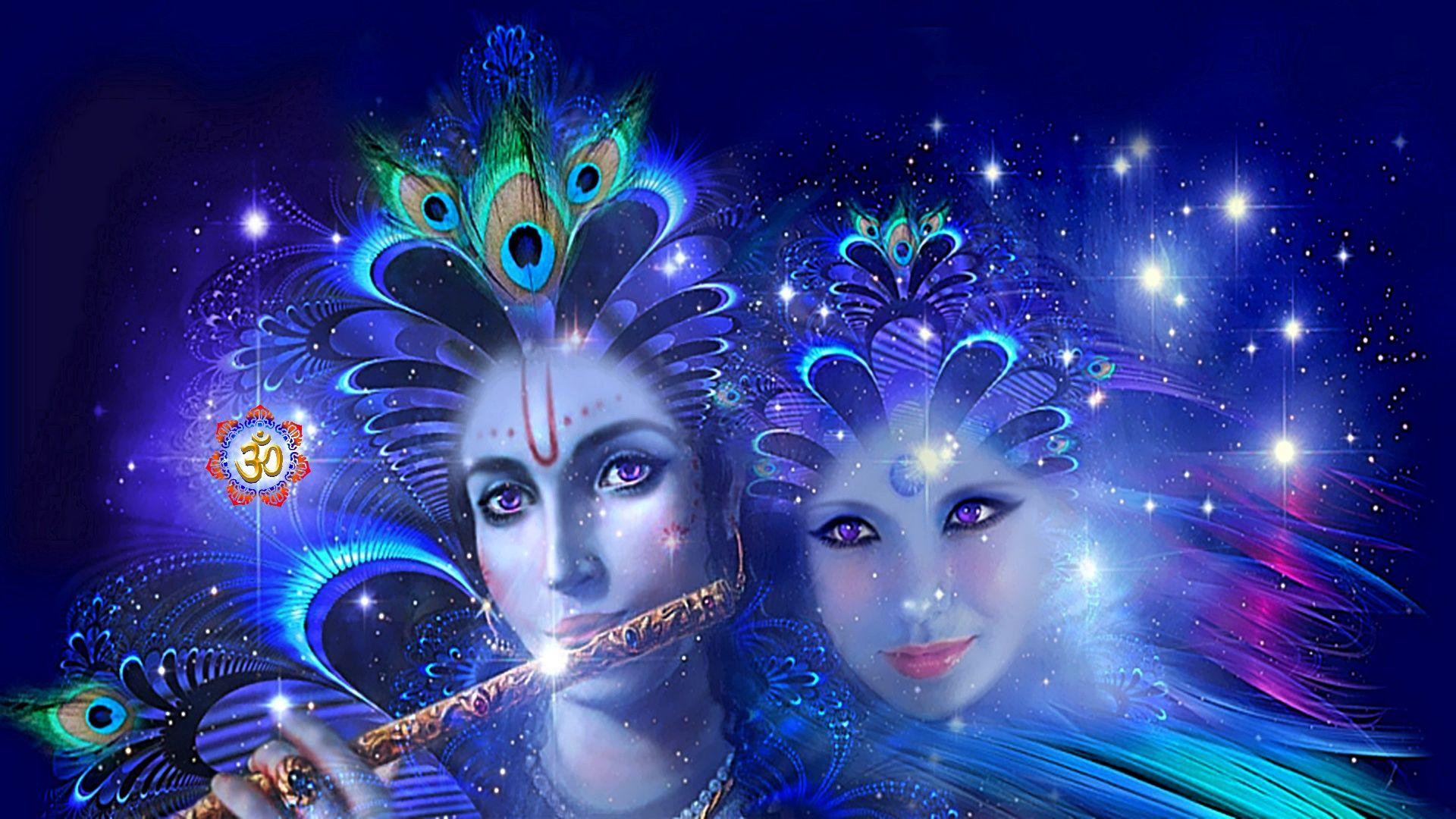Abstract 3d Art Radha Krishna Abstract Caring God Hinduism Loving Sparkling Lord Krishna Hd Wallpaper Krishna Wallpaper Radha Krishna Wallpaper