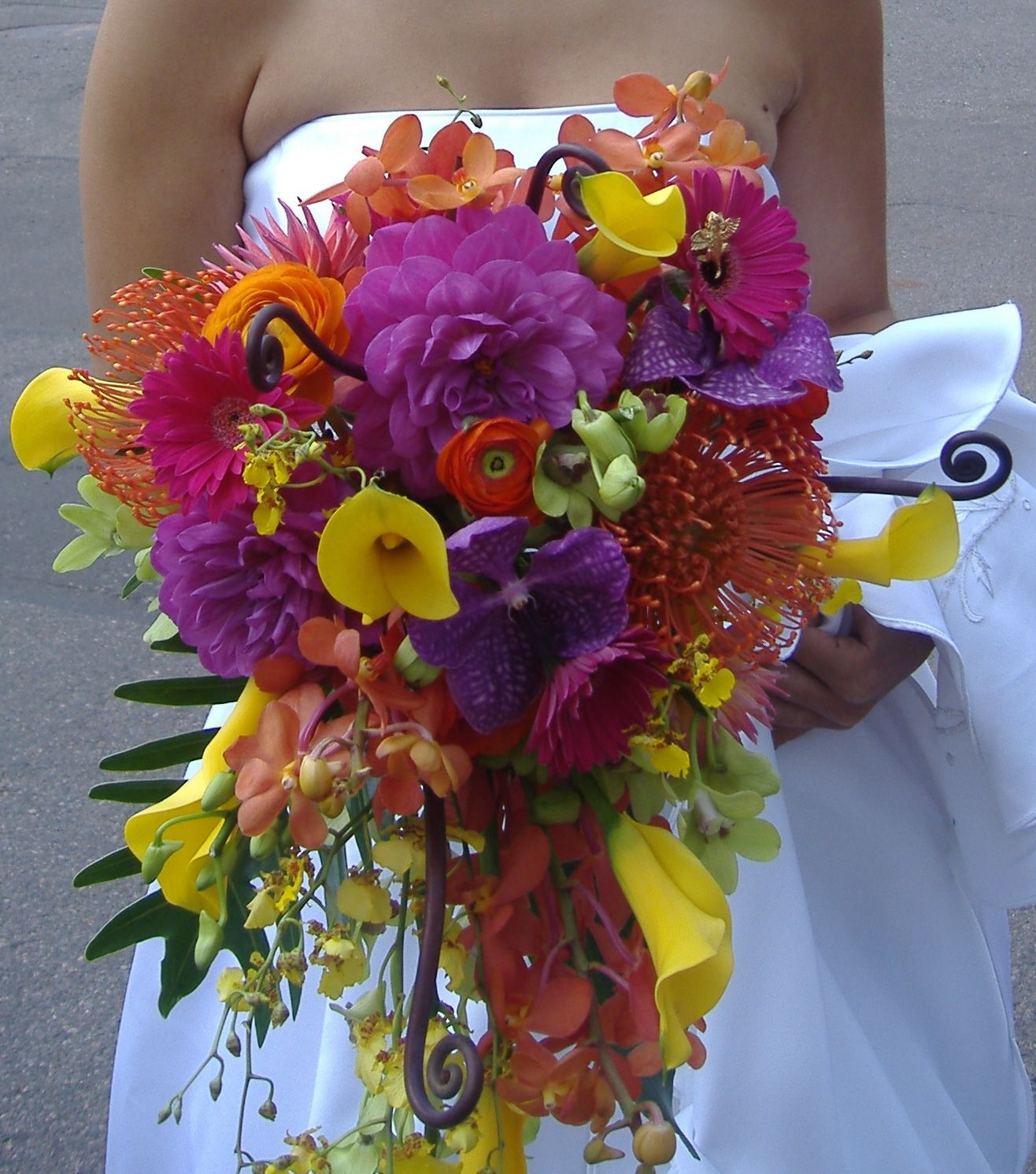 tropical wedding, #Tropical wedding flowers, #wedding bouquet ...