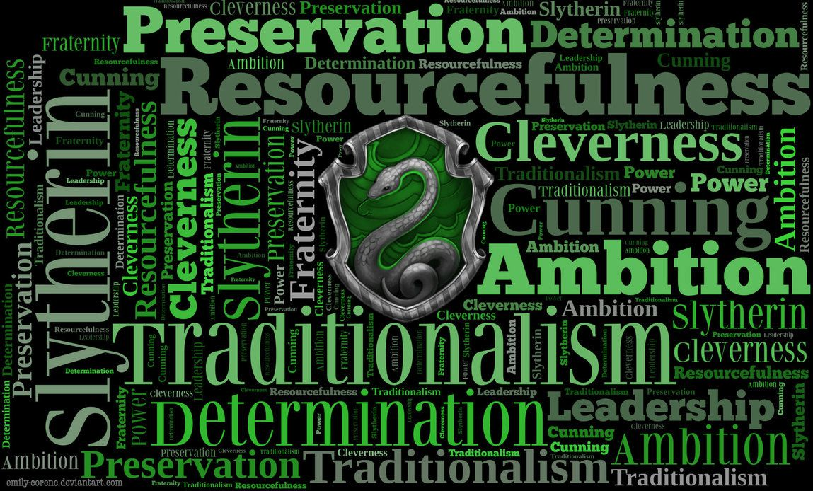 Hd Slytherin Traits Wallpaper By Emily Corene On Deviantart Slytherin Traits Slytherin Wallpaper Harry Potter Houses
