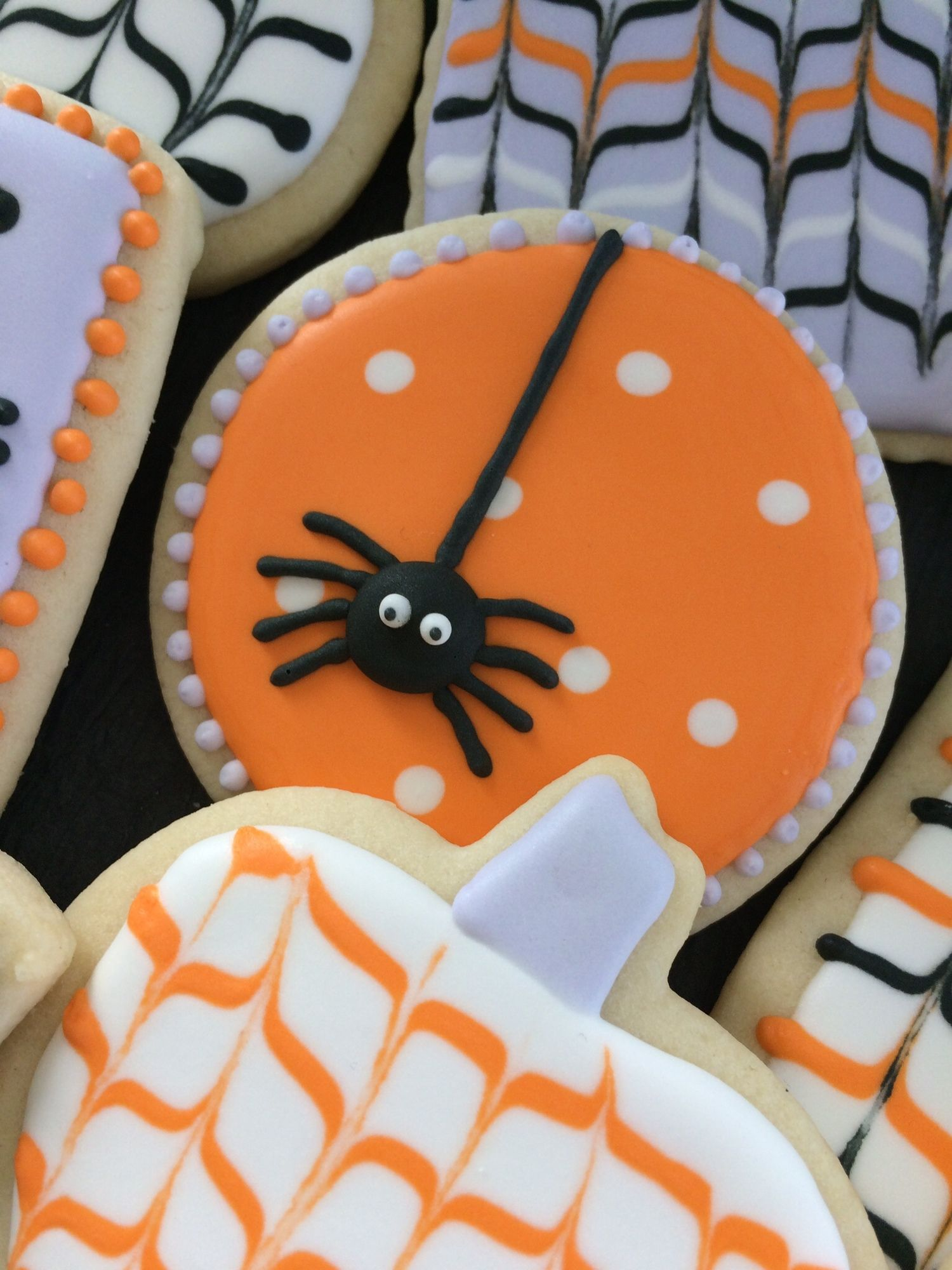 Pin by Catie Moran on Decorated Cookies Pinterest - Halloween Decorated Cookies