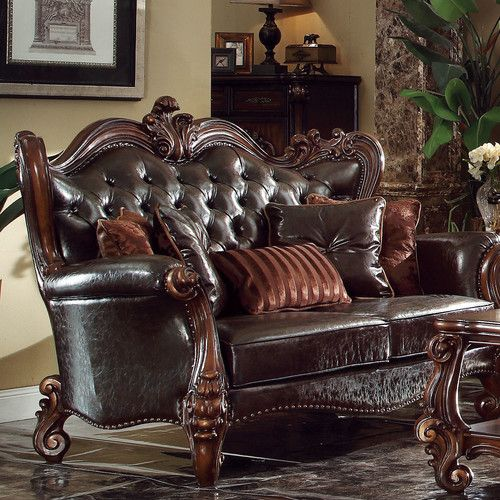 Acme Furniture Versailles Loveseat Furniture Love Seat Acme Furniture