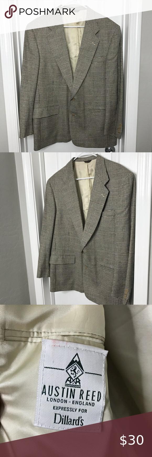 Vintage Dillard S Austin Reed Britain Sport Coat Sport Coat Clothes Design Dillard