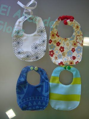 Tutorial Baberos Para Muñecos Baberos Accesorios Para Bebes Patrones Textiles