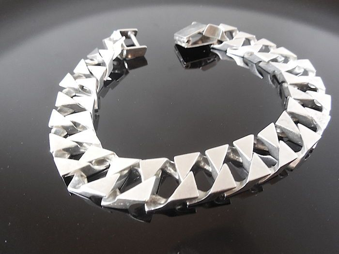 fe1445fafb1f Catawiki pagina online de subastas 925 silver bracelet - 21 cm ...