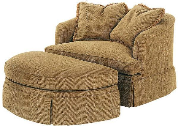 comfy chair and ottoman waffle round a half with or just big reading to curl