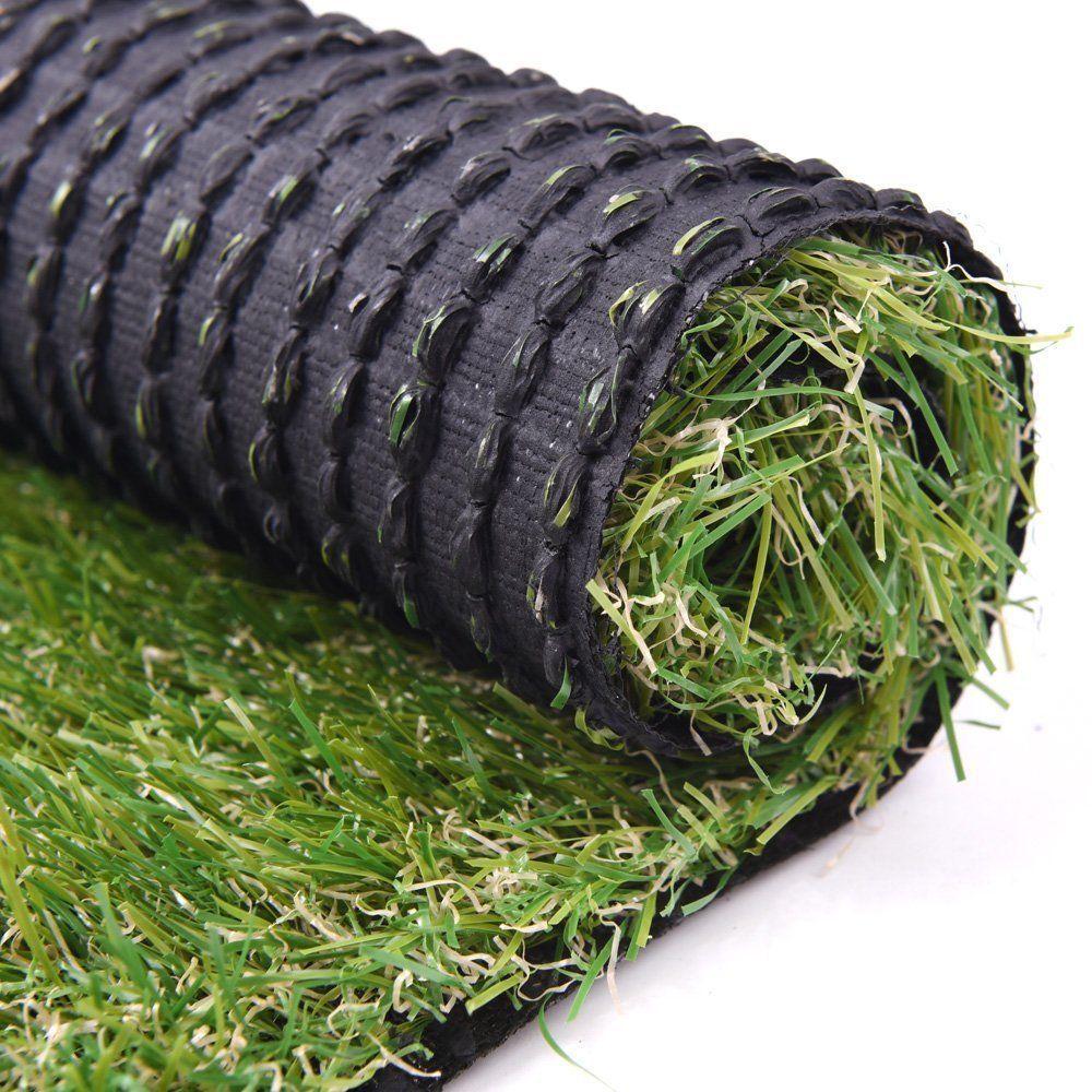 5x3.3 ft Artificial Grass Carpet Pet Faux Lawn Rubber Back