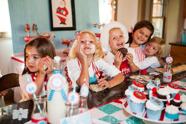 This year, we designed a North Pole inspired collection that is perfect for adding style to any Christmas party or gift, but also has elements perfectly tailored for a Cookie Exchange or baking party.
