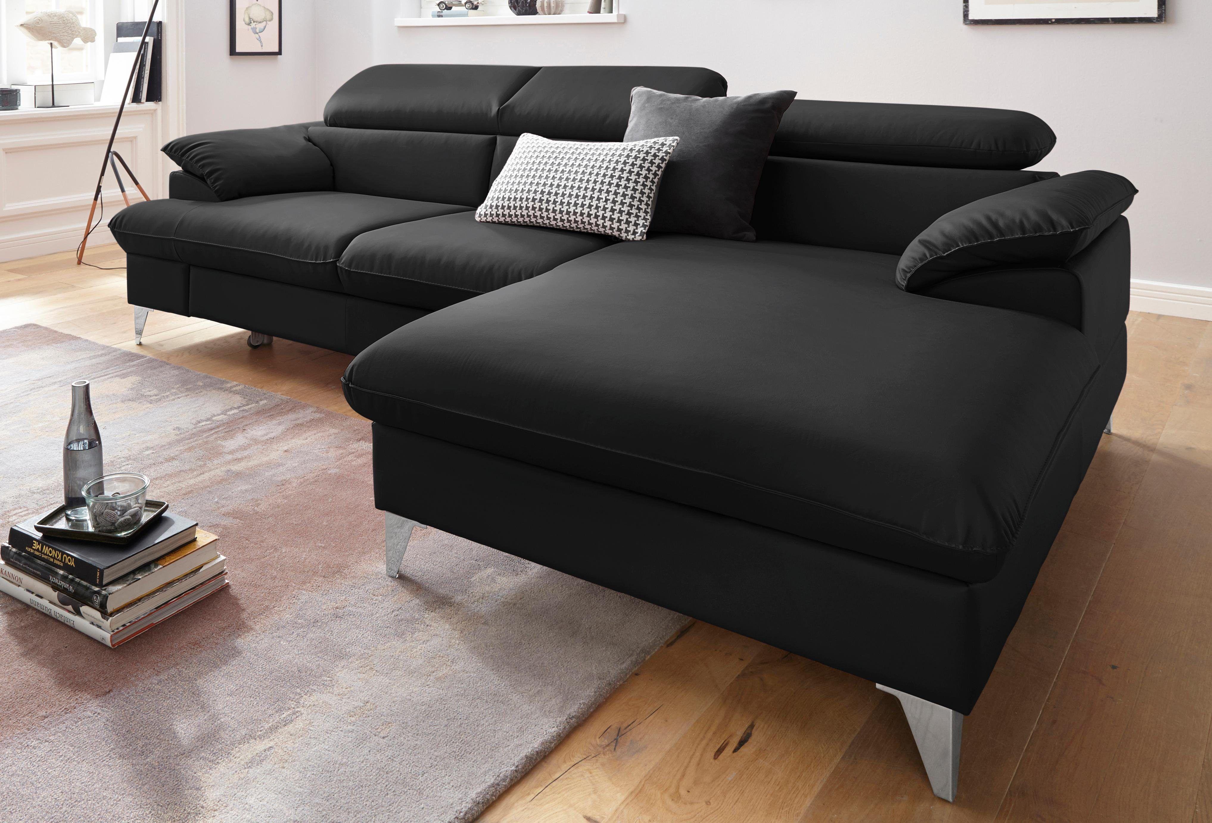 Schwarzes Ledersofa Ledersofa Couch Leder Sofa
