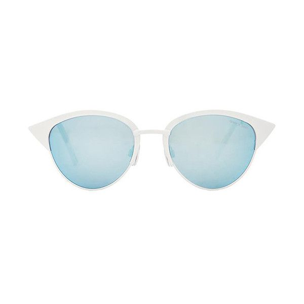 065461ddc7e4f Quay x Shay Mitchell Tilly Sunglasses Accessories ( 50) ❤ liked on ...
