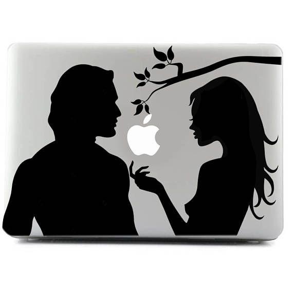 Sin Custom Sticker Decal Sticker MacBook Adam And Eve Viny - Custom vinyl stickers macbook