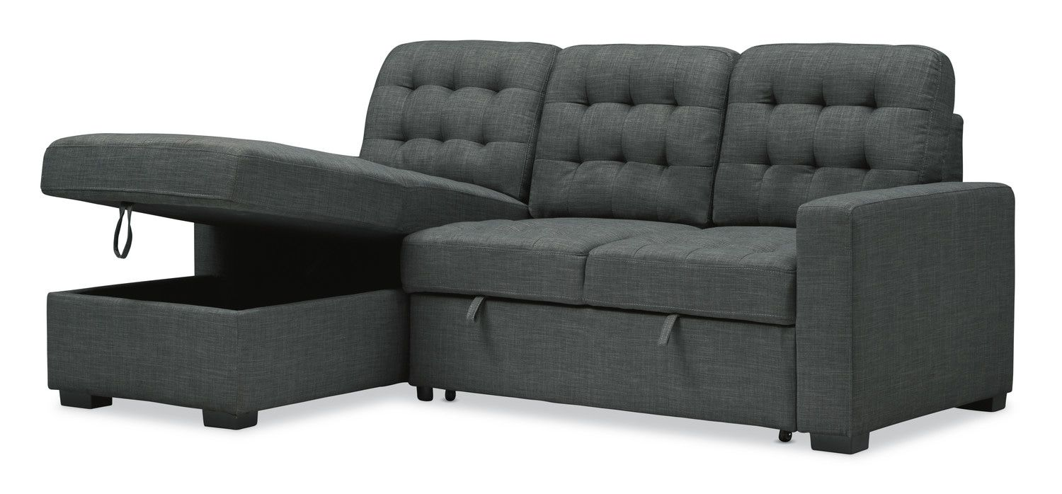 Chatman 2-Piece Sleeper Sectional Sofa with Left-Facing ...