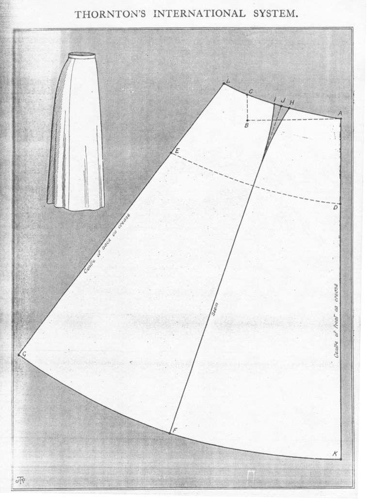 New Style Costume Skirt