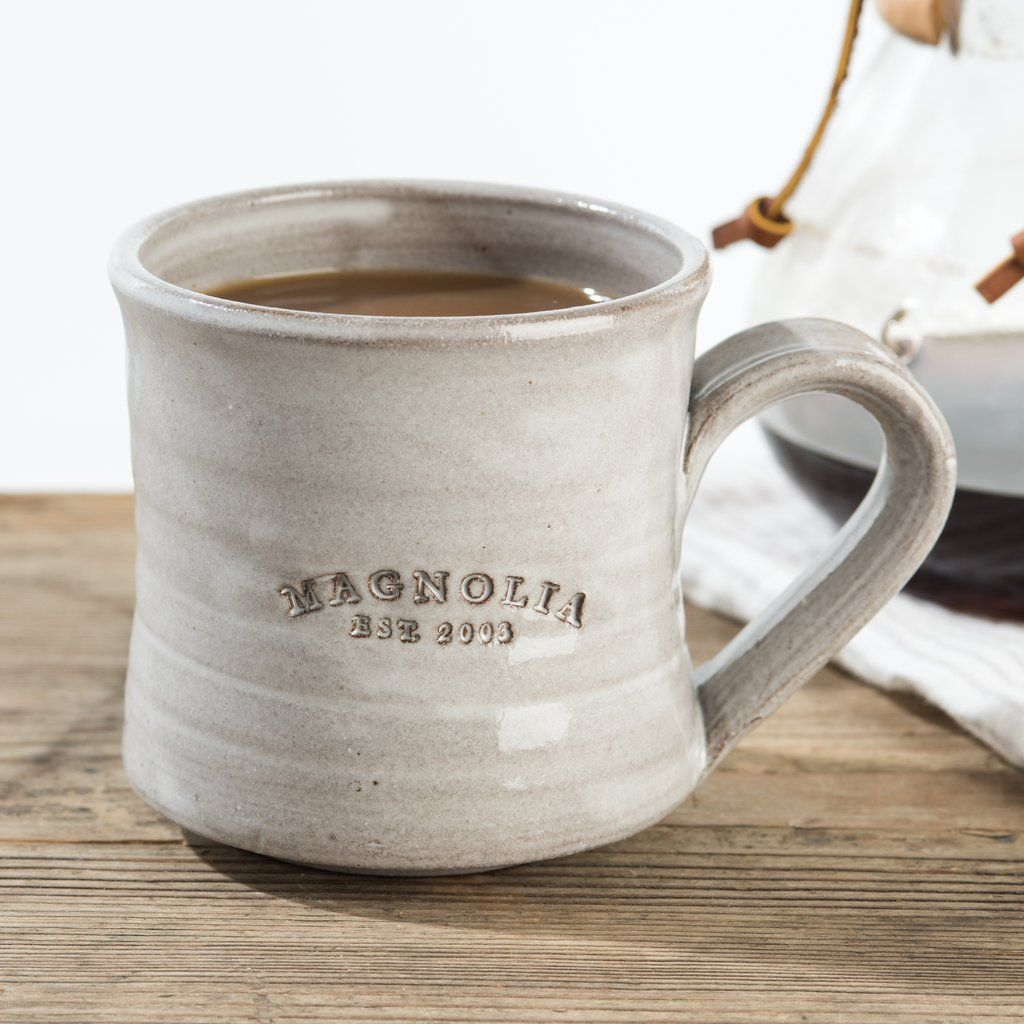 Magnolia Elished Mug Market Homes Farms Coffee Cups