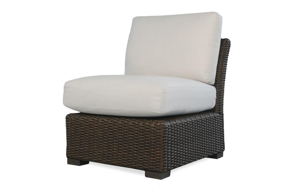 Lloyd Flanders Mesa Armless Sectional  Item 298053 U2013 Sunniland Patio   Patio  Furniture And Spas In Boca Raton