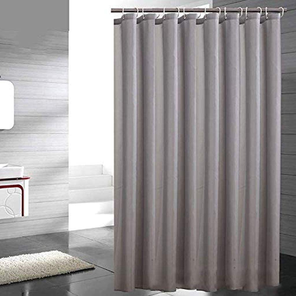 Sosila Duschvorhang Textil Anti Schimmel Wasserdicht