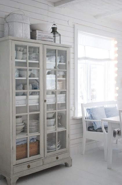 20 Dining Room Storage Ideas   Floating cabinets, Cabinet storage ...