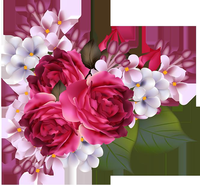 Tubes fleurs bouquets tubes bloemen flowers for Pinterest flur
